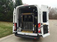 Rear Lift Ford Transit Van