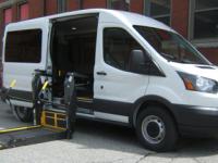 Side Lift Ford Transit Van