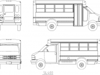 Multi-Function School Activity Bus (MFSAB) Chevrolet/Collins