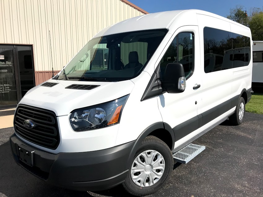 2018 Ford Transit 250 Rear Wheelchair Lift - American Bus ...