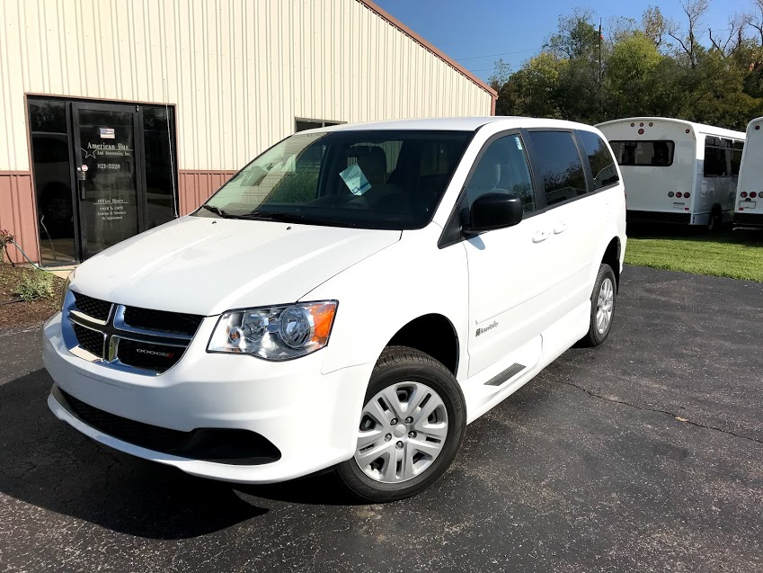 2018 Wheelchair Accessible Minivan For Sale With Side Entry Lowered