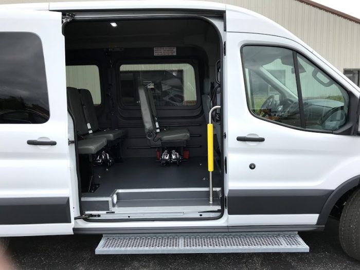 2018 Wheelchair Accessible Av Ford Transit Van For Sale