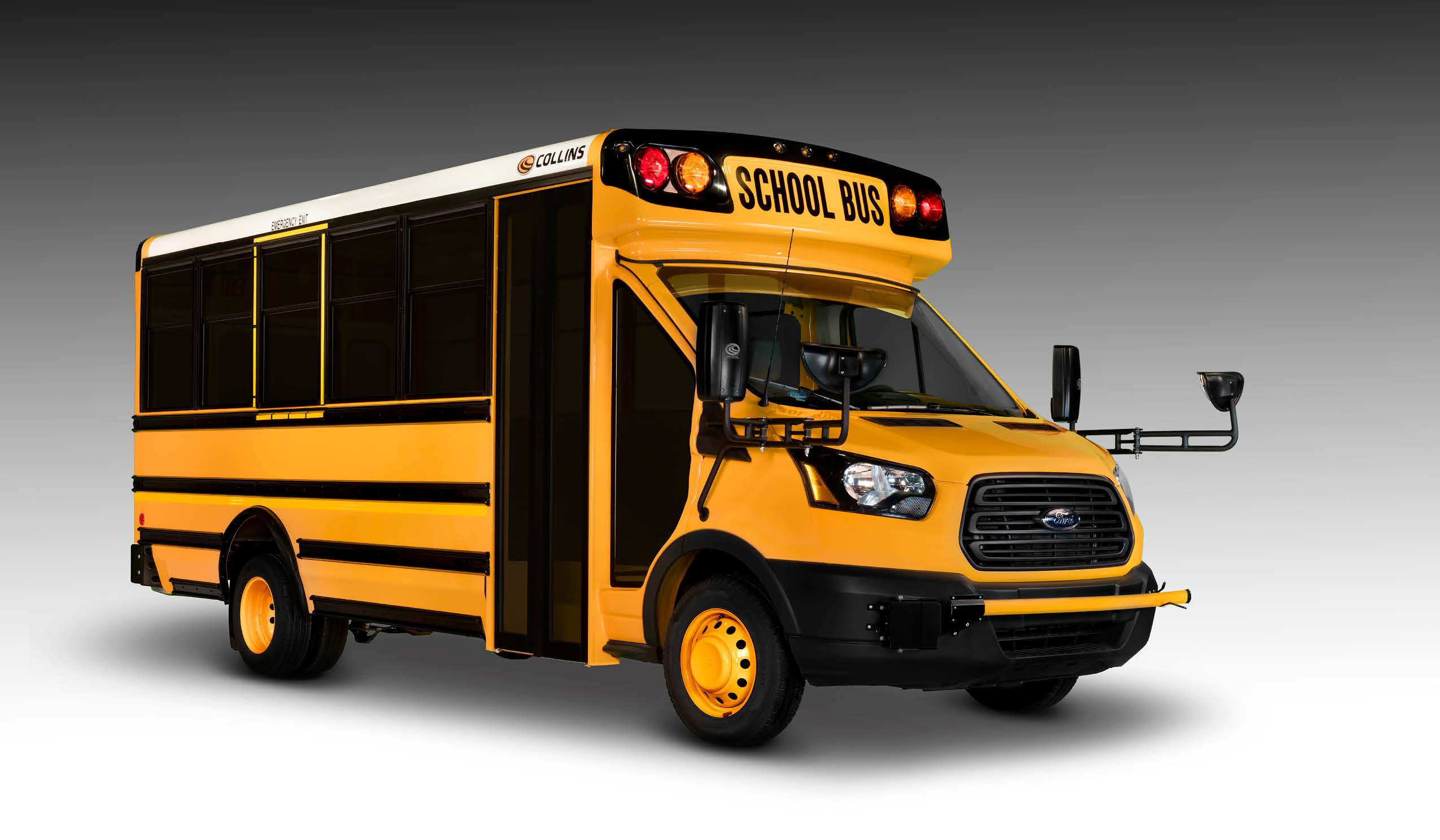 Collins Ford Transit Type A School Bus American Bus And