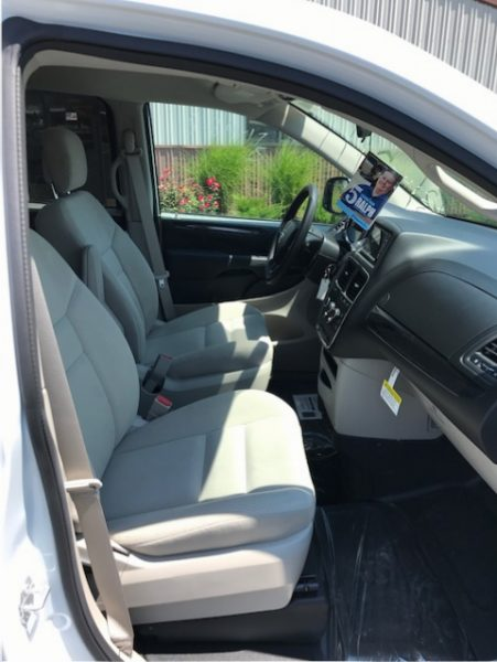 2018 Wheelchair Accessible Minivan With Side Entry Lowered