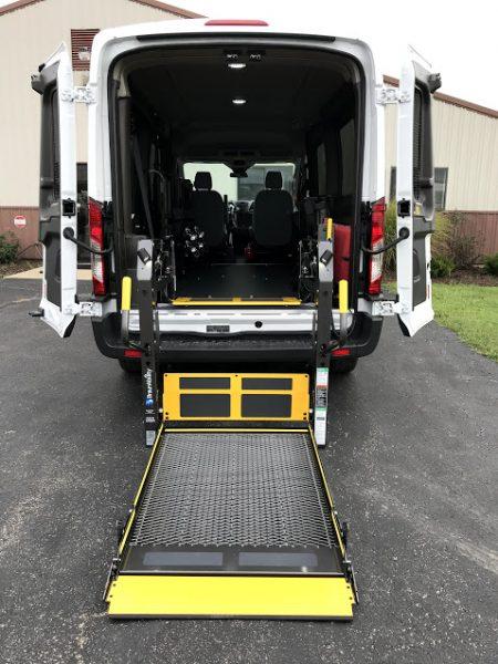2019 Wheelchair Accessible Av Ford Transit Van For Sale