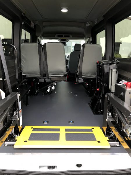 Ford Cargo Van For Sale >> 2019 Wheelchair Accessible (AV) Ford Transit Van for Sale ...