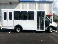 2018 World Trans Bus For Sale 9 Passenger + 2 Wheelchairs (37″ and 34″ Wide Wheelchair Lifts Available)