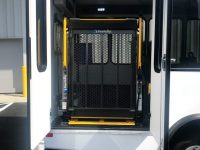 2018 World Trans Bus for Sale, 9 Passenger + 2 Wheelchairs (37″ and 34″ Wide Wheelchair Lifts Available)