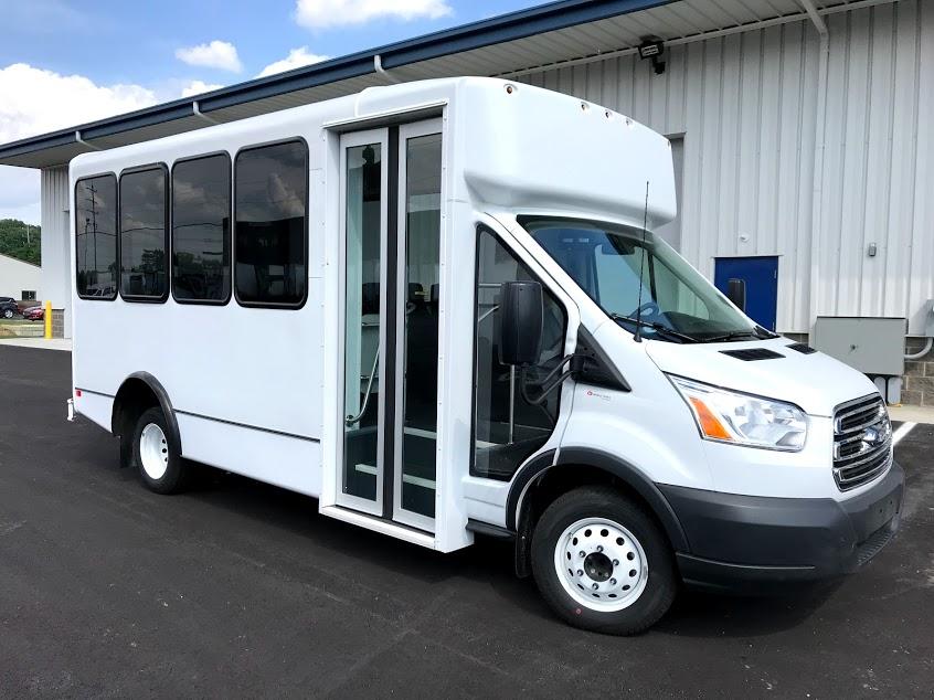 Ford Transit 12 Passenger Van >> 2019 World Trans Ford Transit Bus For Sale 14 Passenger ...